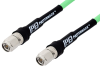 TNC Male to TNC Male Low Loss Test Cable 48 Inch Length Using PE-P300LL Coax, RoHS -- PE334-48 -Image