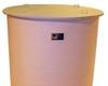 Cylindrical Flat Bottom, Open Top Fiberglass -- 10389