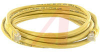 Cable, Patch; 14 ft.; 24 AWG; Unshielded Twisted Pair; Booted; Yellow -- 70081257 - Image