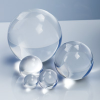 Solid Round Clear Acrylic Balls -- 91559 - Image
