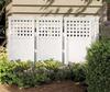Outdoor Screen Enclosure,H 44 In,4Panels -- 1YAN4