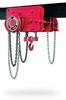 Low Headroom Trolley Hand Chain Hoist -- Chester Zephyr Series