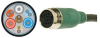 PLENUM QUICK-CONNECT TYPE A VGA CABLE 25FT -- QC02-A-25 -Image