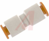 Connector, Pneumatics; 1/4 in.; NPT; 22.23 mm (Hex.); 34.5 mm; 4.6 mm (Min.) -- 70070409