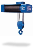 Electric Wire Rope Hoist and Trolley (Double Reeved) -- Shaw-Box 800 Series