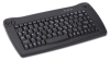 Adesso Mini PS/2 Keyboard with Trackball (Black) -- ACK-5010PB