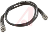 Cable Assy; 36 in.; 19 AWG; RG223/U; Non Booted; Black Jacket; UL Listed -- 70197984 - Image