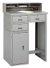 LYON Three-Drawer Shop Desk with Cabinet -- 5240427