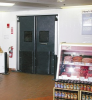 Insulated ABS Industrial Impact Doors -- ID-FD-175