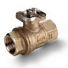 Brass Ball Valve -- s. 6440 NPT