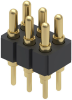 Rectangular Connectors - Spring Loaded -- ED10665-ND