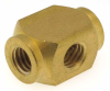 10-32 Internal Thread Cross Fitting -- MX Series -Image