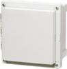 Enclosure, Hinged, Transparent Screw Cover -- ARCA-JIC AR10106CHSCT