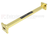 WR-51 Waveguide Section 9 Inch Length Straight Using UBR180 Flange With a 15 GHz to 22 GHz Frequency Range in Instrumentation Grade -- SMF-51S001-09 -Image