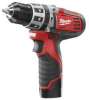 MILWAUKEE M12™ Cordless Red Lithium™ 3/8 In. -- Model# 2411-22