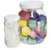 Wide-Mouth PET Jars, 4000 mL (128 oz), 4/Pk -- GO-06043-76