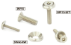 Flat Head Screw with Hexalobular Socket (with Pin) Rosette Washer Set -- SRFXS-SET