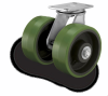 Cantilever-Style Dual Wheel Casters -- 281 Series -- View Larger Image
