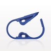 Ratchet Style Pinch Clamp, Blue -- 11498 -Image