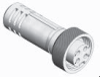 Profibus-PA Series Cordset -- PBDC-4FPX-5M-SS