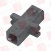 BLACK BOX CORP FOT121 ( FIBER OPTIC COUPLING, MT-RJ–MT-RJ, RECTANGULAR MOUNTING WITH CAP, MULTIMODE, SIMPLEX, BRONZE SLEEVE, PLASTIC FLANGE ) - Image