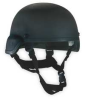 Ballistic Helmet,Black,7-1/4 to 7-1/2