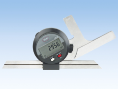 Zero setting at any position of the measuring range;  Beam can be clamped with a push button; Fine adjustment for easy setting of a desired angle