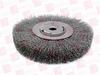 WEILER 06655 ( WHEEL BRUSH, CRIMPED WIRE, .014 INCH WIRE DIAMETER, 1/2-5/87IN DIAMETER )