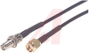 Cable Assy; 15 ft.; 26 AWG (7 x 34); RG174; Non Booted; Black Jacket -- 70126115 - Image