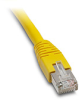 ETHERNET PATCH CABLE, CAT5E STP, 10FT (3.0m), YELLOW -- C5E-STPYL-S10 - Image