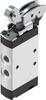 Roller lever valve -- VMEF-R-M52-M-G18 -Image
