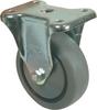 """4"""" Thermoplastic Rubber Rigid Caster -- 8005921"""