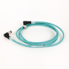 Micro D-Code, QD Style Ethernet Media -- 1585D-E4UBDE-2 -Image