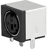 3-pole, Socket, PCB terminals, DIN Plug/Socket -- 4850.2310 -Image