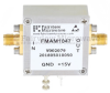 2.2 dB NF Low Noise Amplifier, Operating from 0.03 MHz to 600 MHz with 50 dB Gain, 14 dBm P1dB and SMA -- FMAM1047 -Image