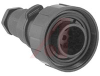 Connector, Standard Buccaneer ; Pin; 9;69.0 mm; 38.1 mm; 3.5 to 9 mm; 5 A -- 70099208