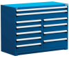 """R Stationary Cabinet (Multi-Drawers), with Compartments, 11 drawers (60""""W x 24""""D x 46""""H) -- R5KKE-4405 -- View Larger Image"""