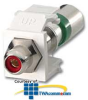 Leviton QuickPort Compression RCA Connector -- 40782-R