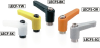 Plastic Clamp Lever - Miniature Type, Female Screw -- LECF -Image