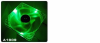 Thermaltake Thunderblade 80mm LED Fan (Green) -- 11216 -- View Larger Image