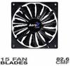 AeroCool Shark Fan - 120mm Black Edition -- 20120 -- View Larger Image