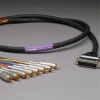 GEPCO 8CH DB25 Audio Snake Cable 25-PIN TO RCA 10ft -- 20DA88512-DB25RCA-010