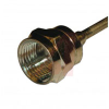 connector,rf coaxial,f straight plug,solder term,for .085 semi-rigid,rg405,75ohm -- 70032164