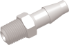 Commercial Grade Barb to Thread Straight Connector Male -- AP011227FA37P -- View Larger Image