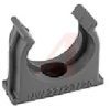 CLAMPING CLIP, CORRUGATED TUBE, POLYAMIDE, BLACK, 22/23 NW, 42 L, 38 H, 16 D MM -- 70077548 -- View Larger Image
