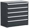 Heavy-Duty Stationary Cabinet , 5 Drawers (48