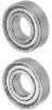 Non-grease/non-oil ball bearing -- 3NC6201ZZST