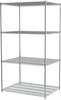 Shelving, 36x48x86, 4-Shelf Wire Shelving Unit -- AWS863648SU