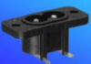 Power Inlets IEC 320-C8 -- AEL JR-201-1-PCB