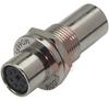 Adapter, Mini DIN 6, Female/female, gold -- 70126123 - Image